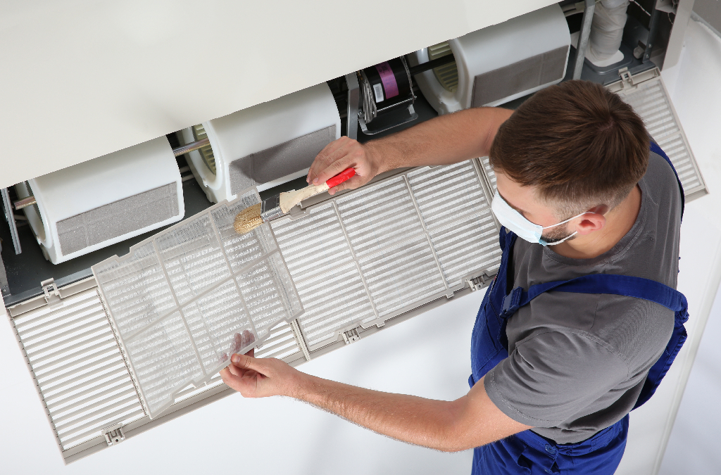 Commercial AC Filter Change