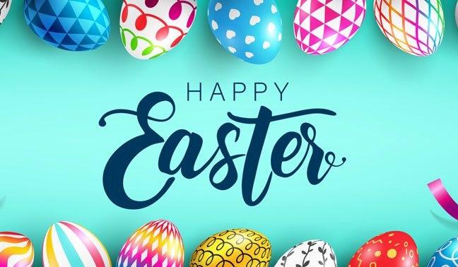 Happy Easter by Mi Bella Casa Corp